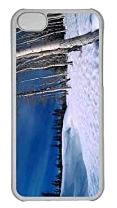 Customized iphone 5C PC Transparent Case - Winter Scenes 9 Personalized Cover