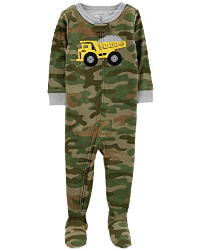 Carter's Boys 1 Piece Sleeper (Camouflage Truck, ()