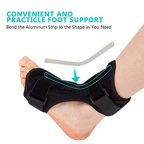 Price comparison product image Vinmax Drop Foot BraceFoot Drop Brace for Stroke,  HemiplegiaAchilles Tendonitis,  Muscular Dystrophy