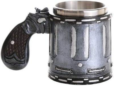 Pacific Giftware Novelty Revolver Gun Coffee Mugs Gun Mug