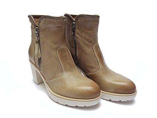 Nero Giardini - Zapatos de vestir de Piel para mujer beige champán 36