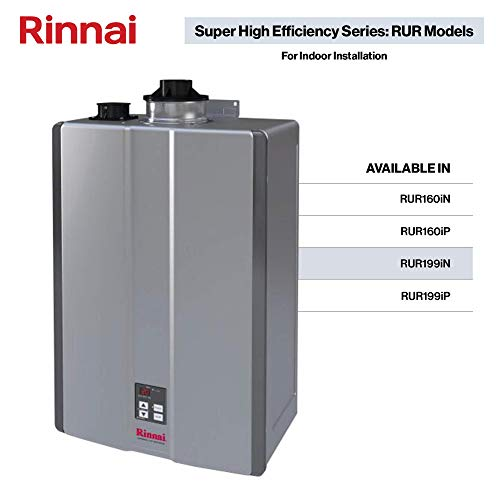 Rinnai RUR Series Sensei SE+ Tankless Hot