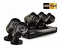 LaView HD DVR 16 Channel 1080P Surveillance System with 3TB HDD and 8 x 1080P Bullet Security Cameras, Free Remote View, LV-KT946FT8A0-T3