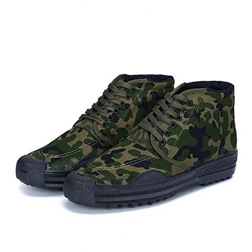 tela usura alpinismo Wear Rcnryhigh gomma sito lavoro da Outdoor resistente camouflage C 41 all' Farm scarpe q1wS0