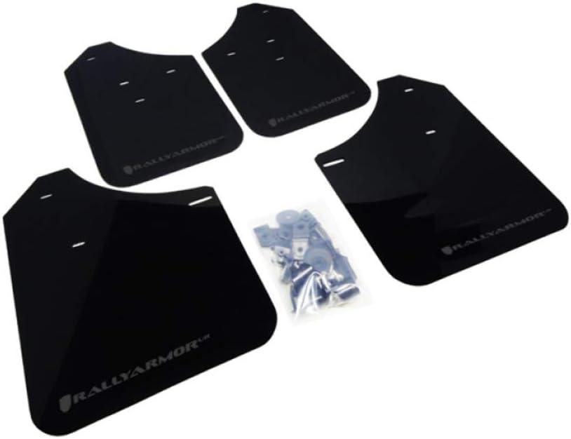 Rally Armor UR Black w// Blue Logo Mud Flaps Set of 4 for Subaru WRX /& STI 15+
