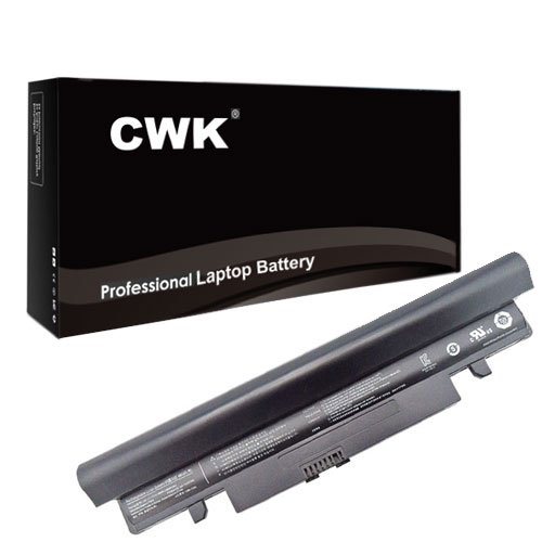 CWK High Performance Battery for Samsung N150 Netbook 6-Cell Battery, Black - 6 Cell 24 Months Warranty