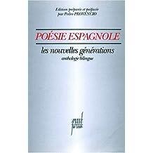 Poésie espagnole, les nouvelles générations