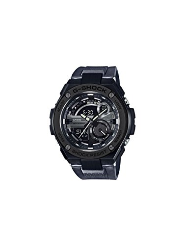 G Shock Steel GST Black Size