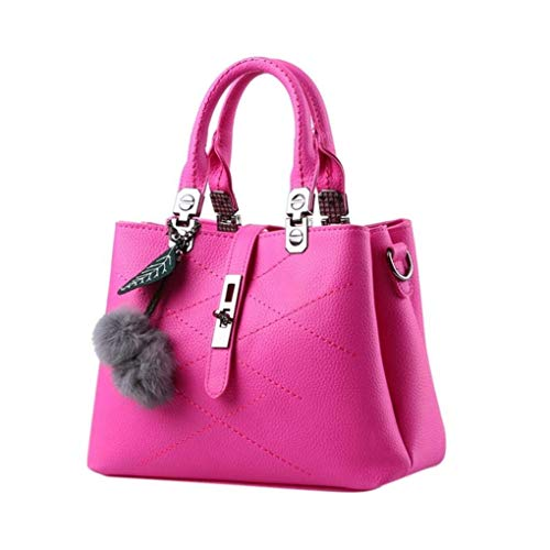 1 Schoudertas Hot Hair 2 Tas Pink kleur Moontang Size Pink La Crossbody Ball Dames qYnAxPO1gw