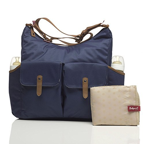 Babymel Frankie Baby Changing Nappy Bag - Navy by Babymel