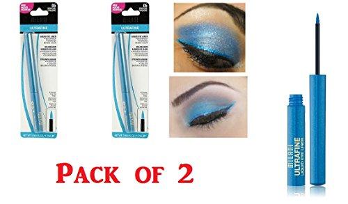 Milani Ultrafine liquid eyeliner, 05 Sparkling Turquoise 2 Pack