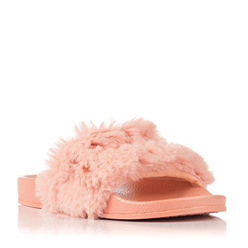 Victoria Pala 42 Zapatillas Sandalia Rosa Mujer Rosa Pelo para rOgwr5CxFq