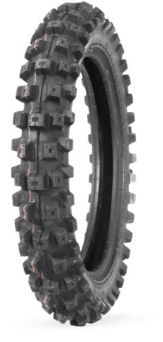 IRC Volcanduro VE33 Tire - Rear - 100/90-19 , Position: Rear, Tire Size: 100/90-19, Rim Size: 19, Load Rating: 57, Speed Rating: M, Tire Type: Offroad, Tire Application: Intermediate XF87-5710