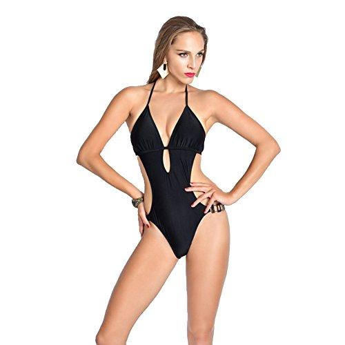 SW99039C1 Nylon Women's Bikini Swimsuit Size XL