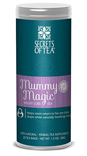 Secrets Of Tea Mummy Magic Weight Loss Tea, Purple, One size
