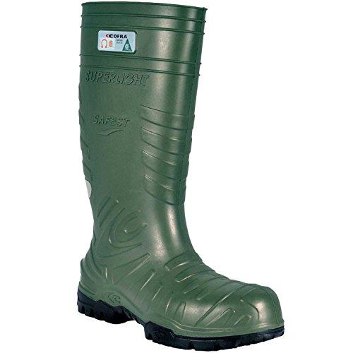 Cofra 00060-CU9.W12 Safest EH PR Safety Boots, 12, Dark Green by Cofra (Image #1)