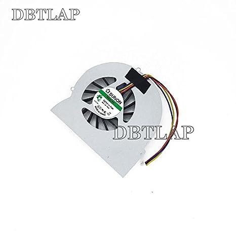 DBTLAP Laptop CPU L/üfter F/ÜR HP EliteBook 8560W Laptop P//N MF60150V1-C000-S9A