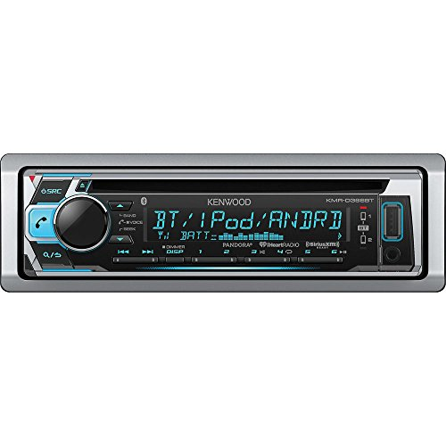 Kenwood KMR-D368BT CD/MP3 Marine Stereo Receiver with Bluetooth (Marine Cd Players With Bluetooth)