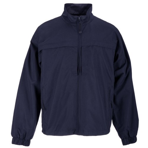 Outerwear Jackets Tactical 5.11 (5.11 Tactical Men's Response Half-Zip Pull-Over Lightweight Microfiber All Weather Jacket, Style 48016)