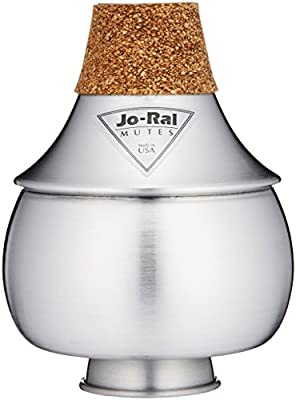 Jo Ral TPT-2A Aluminum Trumpet Bubble Mute from Jo Ral