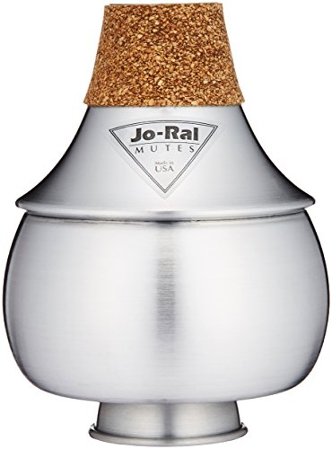 Jo Ral TPT-2A Aluminum Trumpet Bubble Mute by JoRal