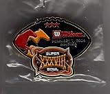 Wilson Super Bowl XXXVIII 38 Pin New England Patriots vs Carolina Panthers - Tom Brady