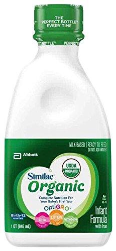 Similac Organic Baby Formula - Ready to Feed - 32 fl oz -...