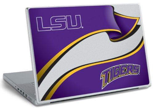 RoomMates RMK0231SS Peel and Stick Laptop Wear, Louisiana State University (LSU)]()