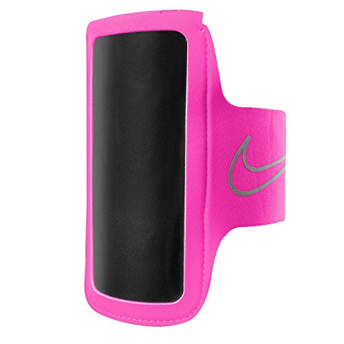 Nike Unisex Lightweight Arm Band 2.0 Vivid Pink/Silver One Size