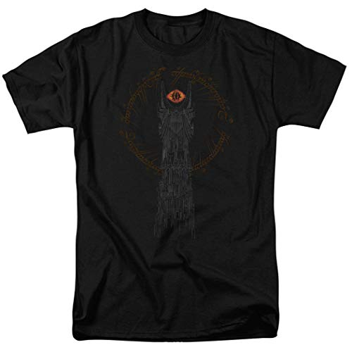 Lord of the Rings Tower of Sauron Eye T Shirt & Exclusive Stickers (Medium)