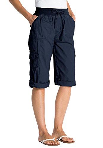 Navy Blue Capri Pants - 9