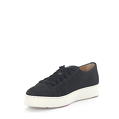 Santoni Sneaker 60248 Tessuto Glitter Nero