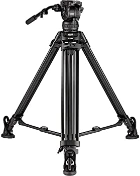 Magnus REX VT-6000 2-Stage Video Tripod with Fluid Head
