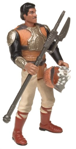 Star Wars Power of the Force Freeze Frame Lando Calrissian as Skiff Guard Action Figure 3.75 Inches Kenner PF0804