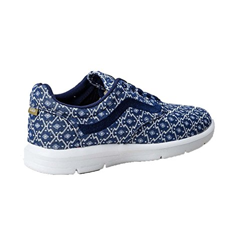 Vans Mens ISO 1.5 Low Top Lace up Fashion Sneakers blue sale pay with visa sale browse 6tKNOZ5fj8