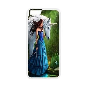 [Tony-Wilson Phone Case] For Iphone 5c -IKAI0448004-Unicorn Pattern
