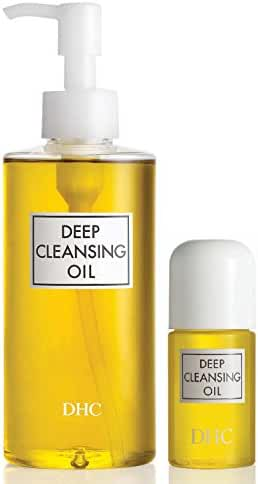 DHC Deep Cleansing Oil, 6.7 fl. oz & Deep Cleansing Oil Travel Size, 1 fl. oz.