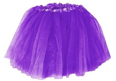 Ballet Dress-Up Fairy Princess Tutu. Color: Purple (Amethyst)