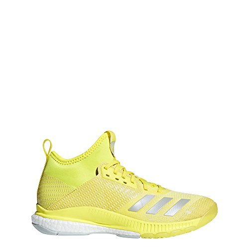 2 Jaune Crazyflight gris blanc De X Mid Argentã Femme Adidas Chaussures Volleyball Flash SaFEx