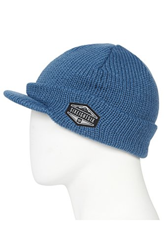 - 686 Men's Recon Visor Beanie | One-Size | Bluesteel