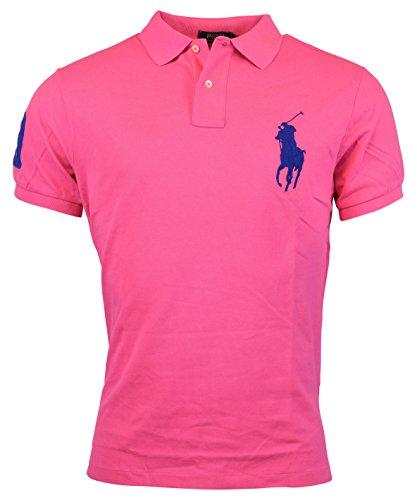 Polo Ralph Lauren Mens Custom Fit Big Pony Mesh Polo