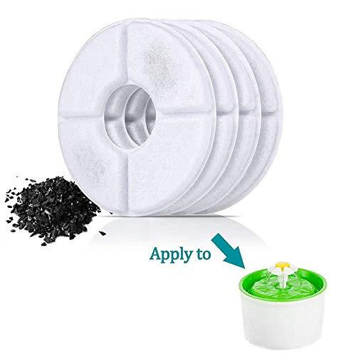 Filtro de Repuesto Compatible con Fuente de Agua para Gatos y Perros sanos e higi/énicos. Ma Jia Lote de 4 filtros para Fuente de Gato y Perro