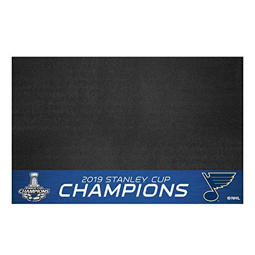 FANMATS St. Louis Blues 2019 Stanley Cup Champions Grill Mat 26