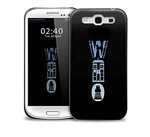dr who logo Samsung Galaxy S3 GS3 protective phone case