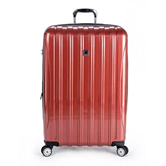 Delsey Luggage Helium Aero 29 Inch Expandable Spinner Trolley, One Size - Brick Red