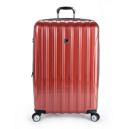 - Delsey Luggage Helium Aero 29 Inch Expandable Spinner Trolley, One Size - Brick Red