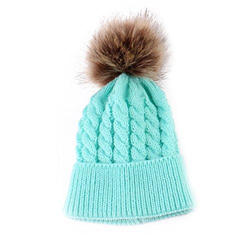 Oenbopo Winter Toddler Crochet Hairball