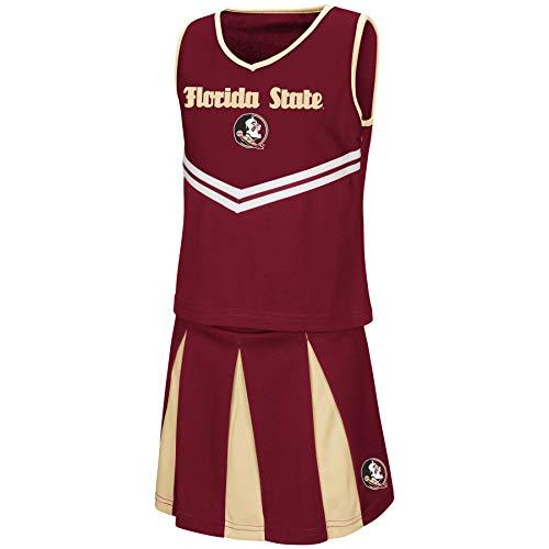 Florida State Football Halloween Costume (Colosseum Youth NCAA-Girls Cheer Set-Florida State Seminoles-Youth)