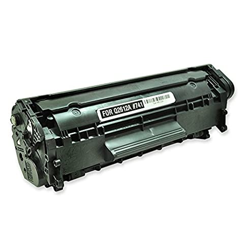 TopTech Toners Compatible Toner Cartridge Replacement for HP Q2612A (HP 12A) - BLACK