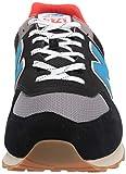 New Balance Men's 574v2 Sneaker, Black/Neo